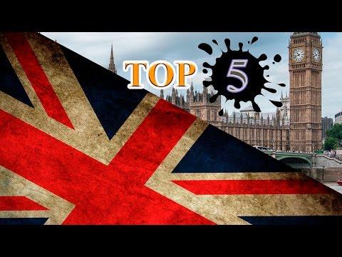 Англия - Факты о Великобритании и ТОП 5 - необычных достопримечательностей...