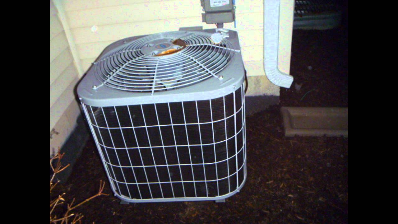 2004 2 5 Ton Carrier Air Conditioner Youtube