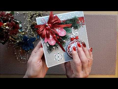 Новогодние скрап открытки
