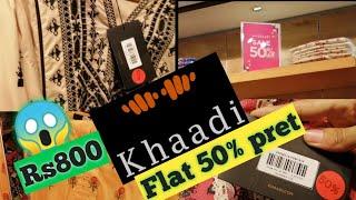 Khaadi pret Flat 50% off Seaso…