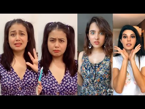 Neha Kakkar Jacqueline Fernandez Shirley New Tiktok Videos With Riyaz, Arishfa, Jannat Being Viral