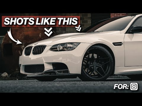 HOW I SHOOT MY CAR PHOTOS FOR INSTAGRAM – Car Photography Tips