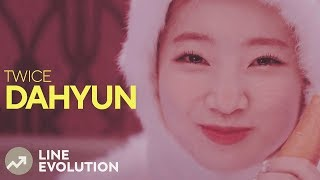 Video TWICE - DAHYUN (Line Evolution) download MP3, 3GP, MP4, WEBM, AVI, FLV Januari 2018