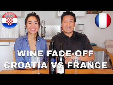 Wine Tasting: Croatian Wine vs French Wine