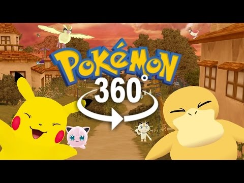 Thumbnail: Pokémon GO! - 360° Adventure Video! - (The First 3D VR Game Experience!)