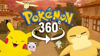 Pokémon GO! - 360° Adventure Video! - (The First 3D VR Game Experience!)