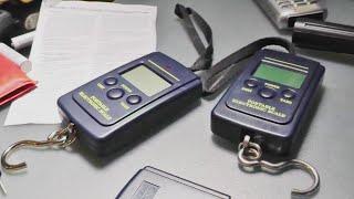 Электронный безмен ручной - обзор и мини тест (40кг/10гр)