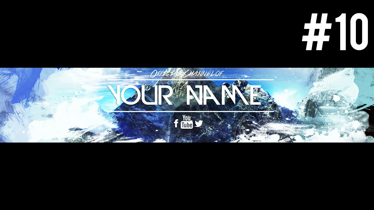 Insane Free Youtube Banner Template  PSD  2015  10   YouTube