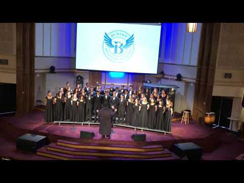 Burton Adventist Academy Choir, May 1, 2019