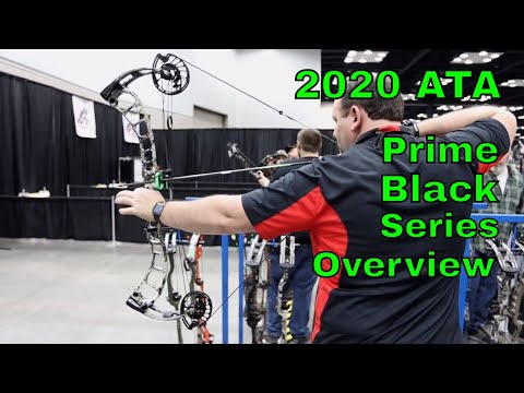 2020 ATA Prime Black Series bows overview by Mike's Archery