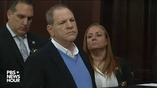 WATCH: Harvey Weinstein arraigned on rape, criminal sex act charges