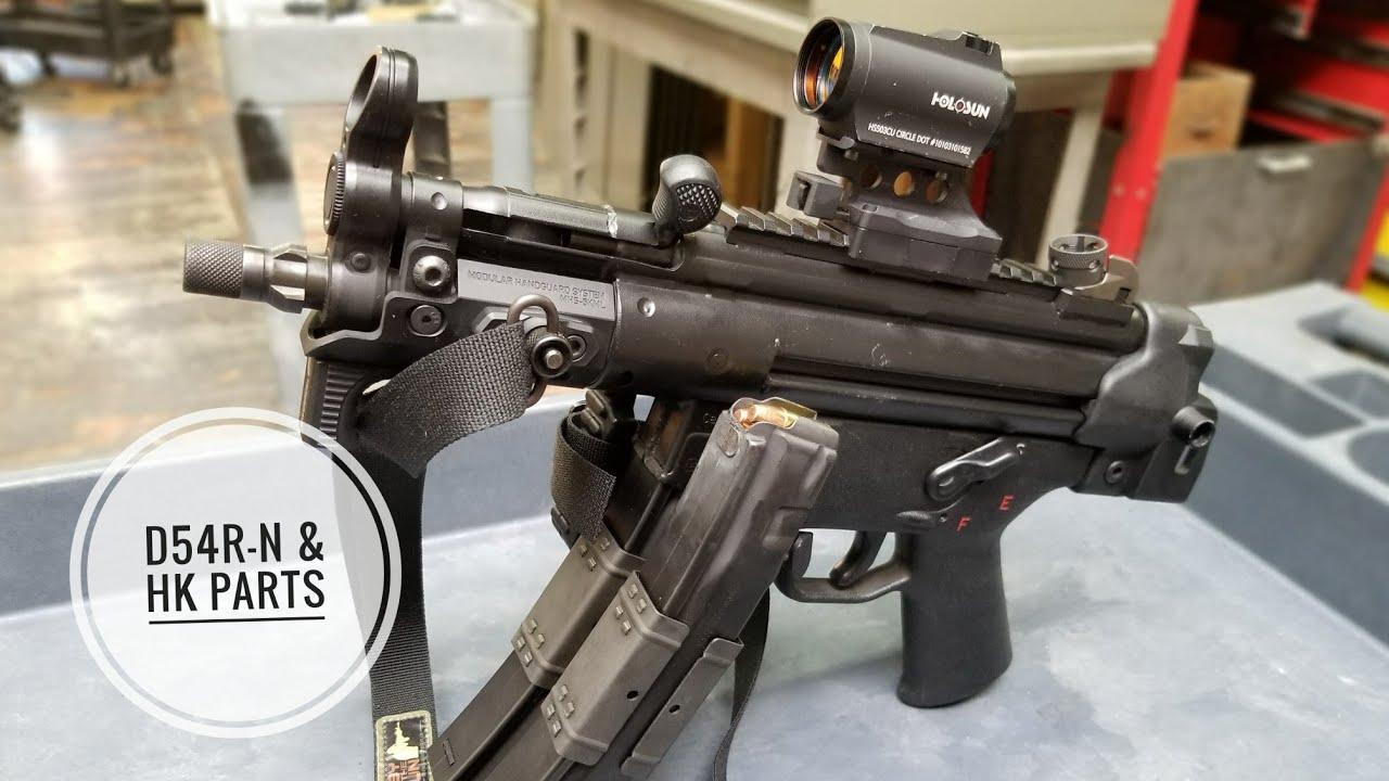 D54R-N MP5 Machine Gun with HKPARTS COM