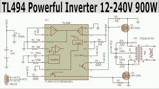 3000Watt Inverter 12 240V with TL494 and IRF3205 MOSFET