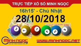 Xổ số Minh Ngọc™ Chủ Nhật 28/10/2018 - Kênh chính thức từ Minhngoc.net.vn