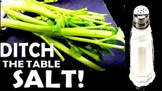 How To Make Homemade Celery Salt