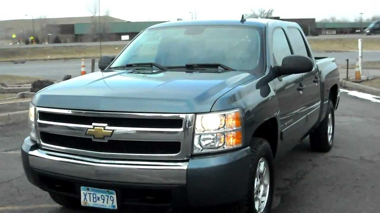 2008 Chevrolet Silverado 1500 Lt Crew Cab 4dr 4x4 5 3 V8 Loaded Clean Warranty You