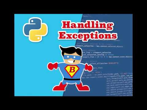 Python Tutorial for Beginners with Examples - How to handle errors thumbnail