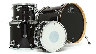 DW Performance Lacquer Series 4-piece Drum Kit Review - Sweetwater Sound