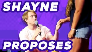 SHAYNE PROPOSES TO A FAN?! (Squad Vlogs)