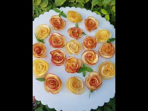 Վարդեր խնձորից,խնձորի չրից վարդեր #varder #xndzoric