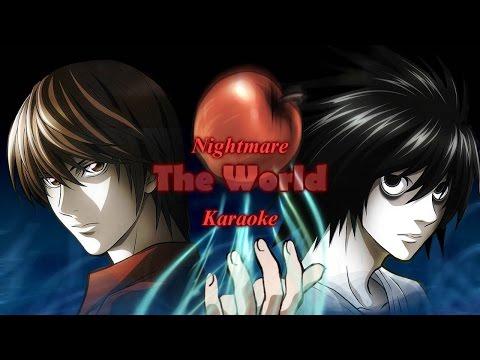 [Karaoke] Nightmare - The World