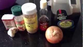 Cooking Bulgogi/korean Bbq Part 1