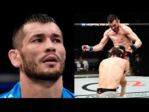 Мурадов нокаутировал Санчеса / Сильные слова Махмуда после боя на UFC 257
