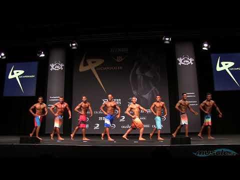 Luciapokalen 2018 Mens Physique Under 170cm Round 1