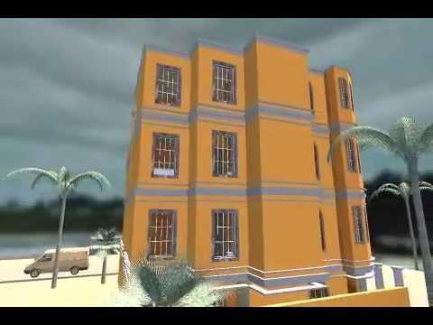 house at Senegal external view.avi