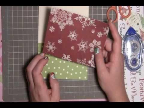 Black Cat Scraps Christmas Phrases Card 10