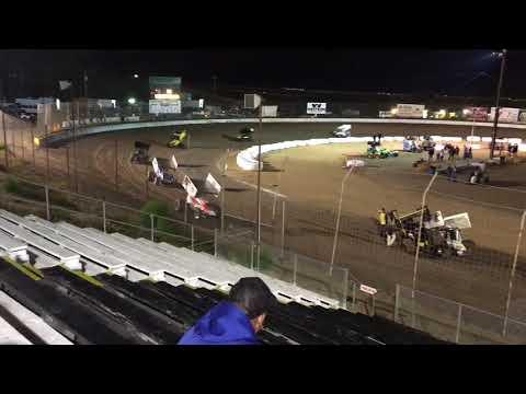 305 Racesaver Santa Maria Speedway 9-16-17 Grant Duinkerken 3rd Place