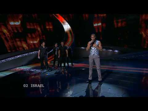Eurovision 2008 Semi Final 1 02 Israel *Boaz Mauda* *The Fire In Your Eyes* 16:9 HQ