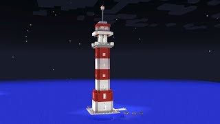 Minecraft - How to build a lighthouse