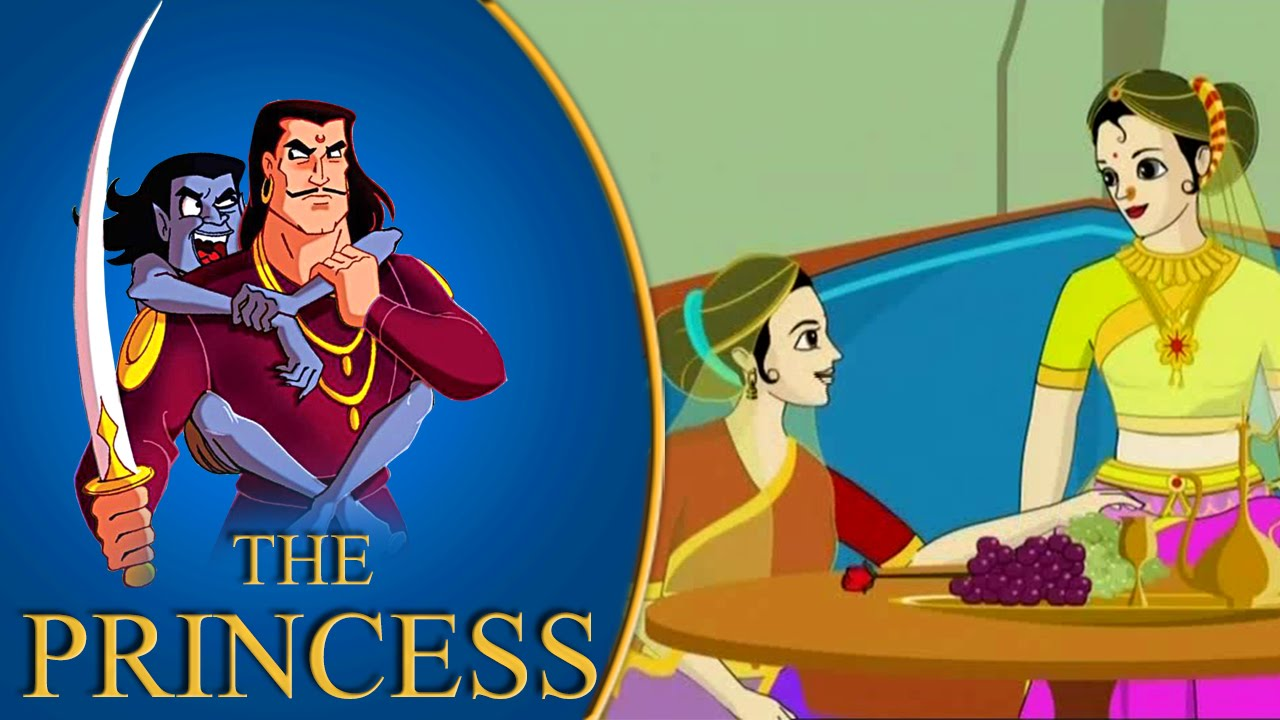Vikram Betal The Four Princess Funny Hindi Animated Stories Youtube
