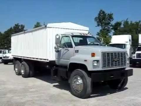 Grain Trucks For Sale >> Chevrolet C 8500 Tandem Grain Truck 20 Stainless Body 260 238 5000