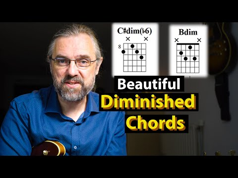 Diminished Chords - Beautiful Progressions and How To Use Them