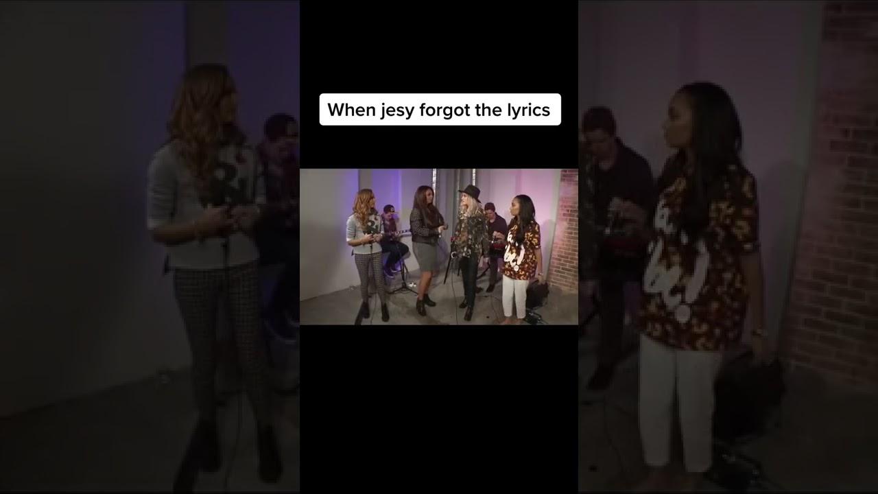 When Jesy Forgot The Lyrics tiktok xlittlexmixerx