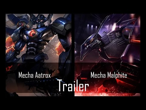 Mecha Malphite vs Mecha Aatrox images