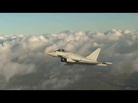 Eurofighter Typhoon Tranche 3 First Flight