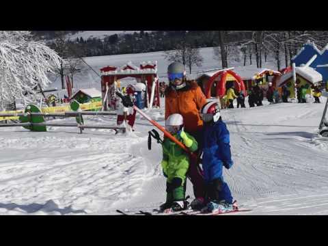 Alpina Kinder Carat Visor Skihelm