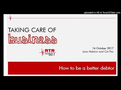 How to better manage your business debts - 16 Oct 17