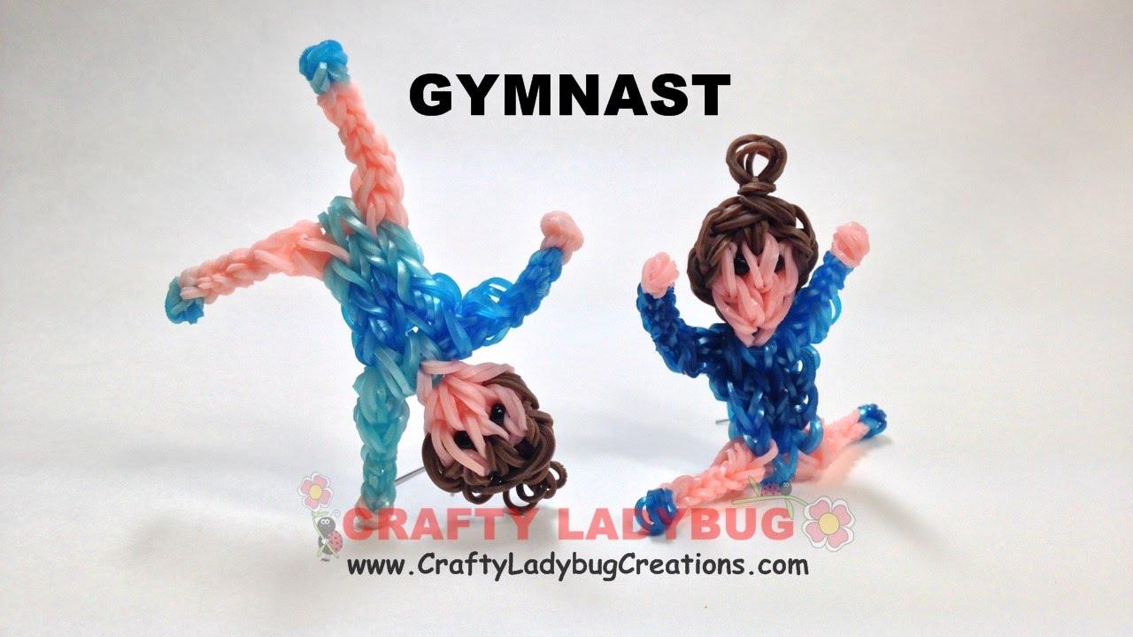 Rainbow Loom Bands Gymnast Figure Advanced Tutorials How