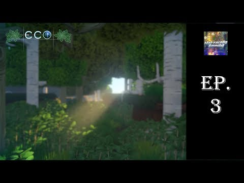 Storage, Food, and House Building!  Eco Ep.3