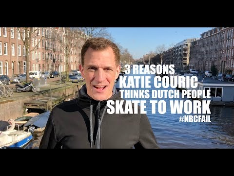 3 Reasons Katie Couric Thinks Dutch People Skate to Work #NBCFail | GSUSE