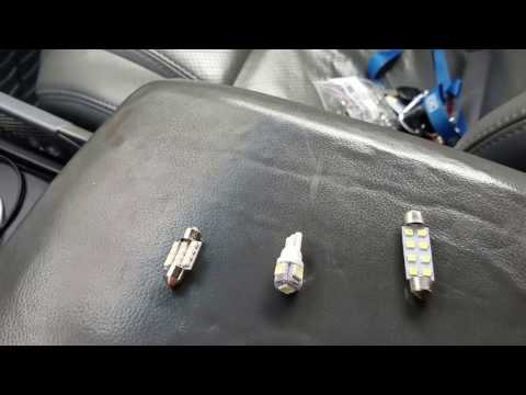 Honda Pilot LED Bulbs Needed for All Interior and License Plate Lights