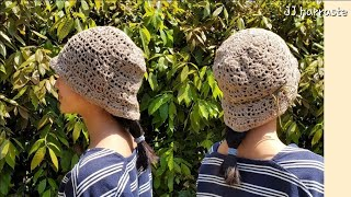 eng) 코바늘 모자뜨기, 코바늘 봄, 여름 클래식한 …