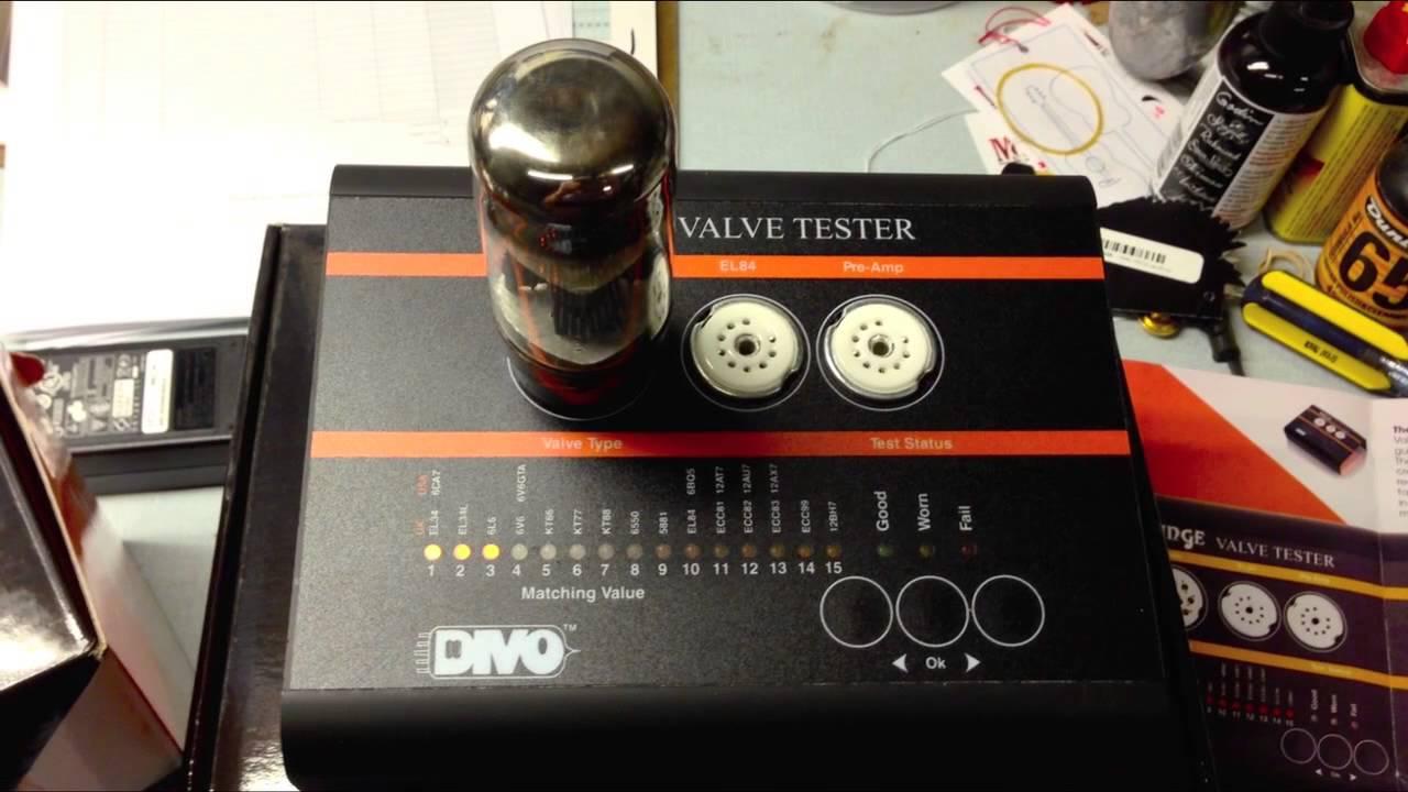 Digital Tube Tester : Orange vt valve tube tester tutorial youtube