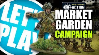 Lets Play Bolt Action - Market Garden Campaign Pathfinders at Overasselt