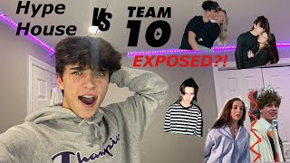 Hype House V.S Team 10!? #TeaTok My GF Got Hit On!?