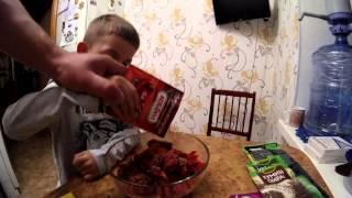 Как вялить мясо в домашних условиях(Спасибо моему другу Олегу, который научил меня этому замечательному рецепту! Мясо, вяленое таким способом,..., 2015-03-28T20:57:43.000Z)
